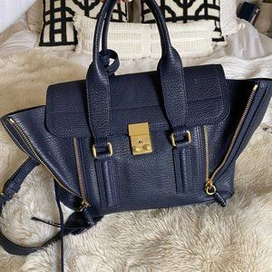 3.1 Phillip Lim Pashli Medium Satchel - Ink Navy